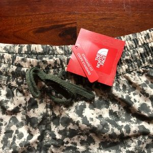 The North Face Military Print Water Shorts